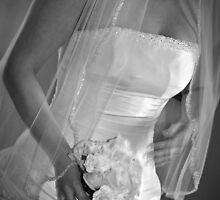 Wedding dress by Melissa  Carroll