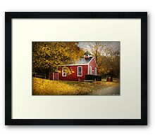 The old school house Framed Print