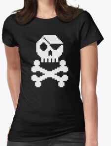 Digital Pirate Womens Fitted T-Shirt