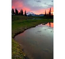 Embers in the Clouds Photographic Print