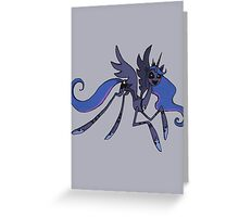 Princess Luna as the Puppet Greeting Card
