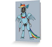 Rainbow Dash - Five Nights at Freddy's Greeting Card