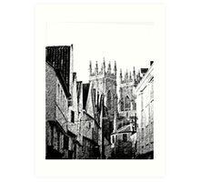 The Minster, York Art Print