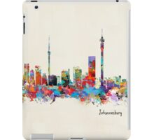 Johannesburg South Africa Skyline iPad Case/Skin