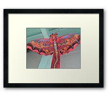 Here be dragons. Framed Print