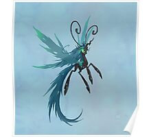 My Little Pony Queen Chrysalis Breezie Poster
