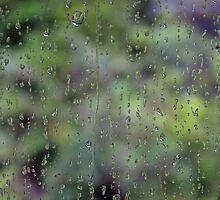 Green Rainy Day by sarah ward