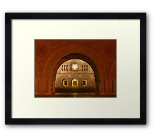 Memorial Church Framed Print