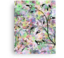 Busy Butterflies Canvas Print