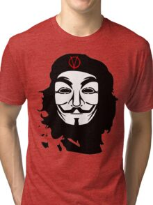 Che Guevara Anonymous Tri-blend T-Shirt