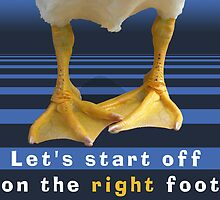 Let's Start Off On The Right Foot by TsipiLevin