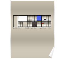 Eames House Architecture T-shirt Poster