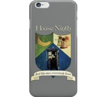 House Ninth Doctor iPhone Case/Skin
