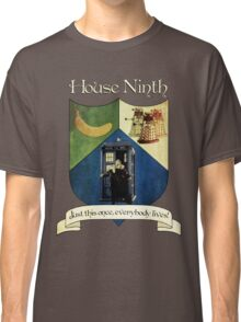 House Ninth Doctor Classic T-Shirt