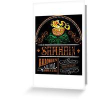 Samhain (Halloween) Design Greeting Card