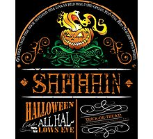 Samhain (Halloween) Design Photographic Print