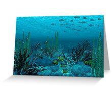 Tuna Reef Greeting Card