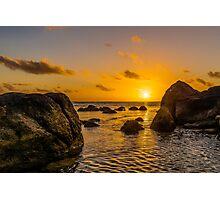 Indian Ocean Setting Sun Photographic Print