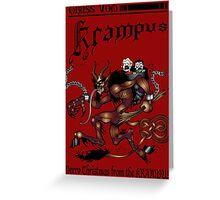 Merry Krampus! Greeting Card
