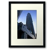 High Floor Building  Framed Print