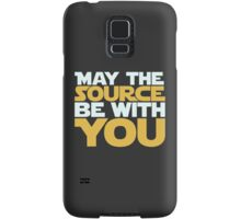 May The Source Be With You Samsung Galaxy Case/Skin