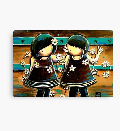 Daisy Chains Canvas Print