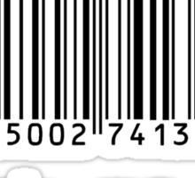 Check Me Out (Barcode) Sticker