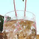 A Glass Of Good Cheer by WhiteDove Studio kj gordon