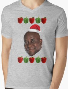 The Ainsley Harriott Christmas Jumper Mens V-Neck T-Shirt