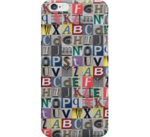 Street ABC iPhone Case/Skin