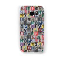Street ABC Samsung Galaxy Case/Skin