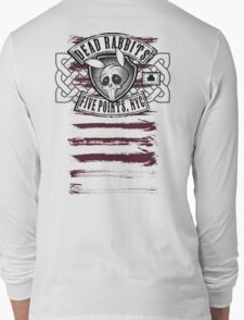 Dead Rabbits Vintage Biker Design Long Sleeve T-Shirt