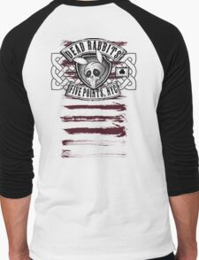 Dead Rabbits Vintage Biker Design Men's Baseball ¾ T-Shirt
