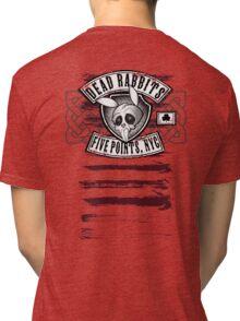 Dead Rabbits Vintage Biker Design Tri-blend T-Shirt