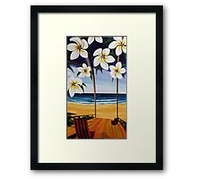 sailing Noosa Style the 'Storm' Framed Print