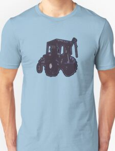 TRACTOR PURPLE no text T-Shirt