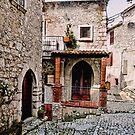 Italian Court Yard by Warren. A. Williams