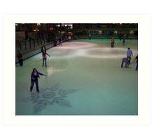 Ice Rink Art Print