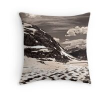 The Slow and Subtle unveiling of a Lake II Throw Pillow