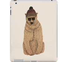 Cool Bear iPad Case/Skin