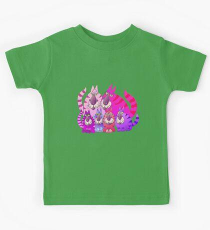Purrrrfect in pink Kids Tee