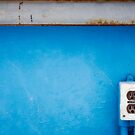 Socket in Blue II by David Librach - DL Photography -