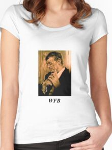 William F. Buckley, Jr Women's Fitted Scoop T-Shirt