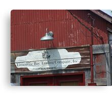 limestone trading co Canvas Print