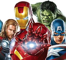 avengers by umafix