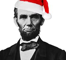 Merry Christmas from Abraham Lincoln by VictorVelocity