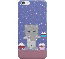 Hippo´s Cupcake Party iPhone Case/Skin