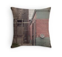 Antique Buildings Throw Pillow