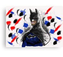 Batman Graffiti Canvas Print