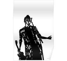 Black and white Tyler Poster
